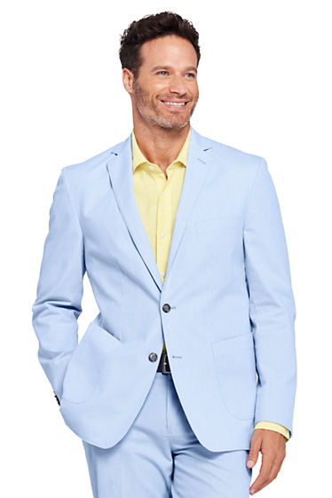 Men's Traditional Fit Stretch Pincord Sport Coat from Lands' End